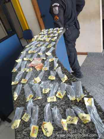 Acusado de tráfico de drogas é preso em Rio Bonito - O São Gonçalo
