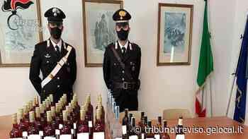 Valdobbiadene, arrestato il ladro seriale di bottiglie di vino - La Tribuna di Treviso
