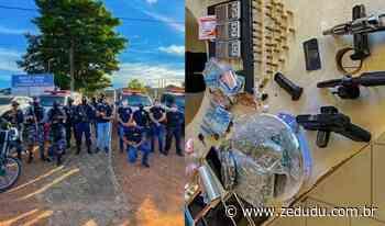 Xinguara: Polícia Civil prende sete por tráfico de drogas e posse ilegal de arma de fogo - Blog do Zé Dudu