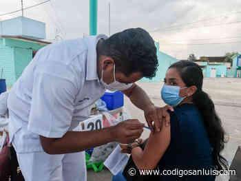 Alistan vacunación para mayores de 50 en Tamazunchale - Código San Luis
