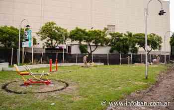 Vicente López inició renovación de la plaza White de Munro - InfoBan