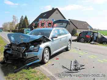 Borgholzhausen: Kind bei Unfall schwer verletzt - Westfalen-Blatt