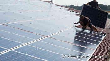 Mehr Fotovoltaik in VG Asbach? Antrag auf Solaroffensive heizt Debatte an - Rhein-Zeitung