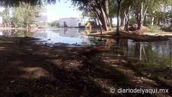 Falla en tubería principal deja a Huatabampo sin agua - Diario del Yaqui