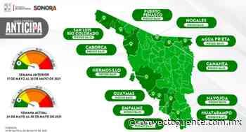 Hermosillo, Huatabampo, Navojoa, Caborca y Cajeme en riesgo de pasar a amarillo; positividad de casos por covid-19 aumenta al 26% - Proyecto Puente