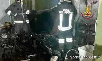 Braciere scatena incendio in un'abitazione di Saonara - Giornale Nord Est