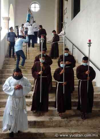 La Virgen de Izamal entra al convento - El Diario de Yucatán