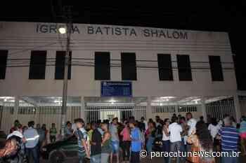 Chacina em igreja evangélica de Paracatu completa 2 anos sem julgamento do assassino - Paracatunews