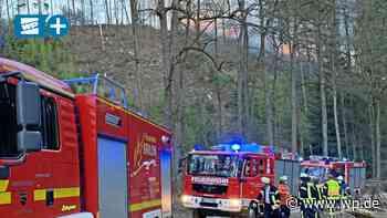 Waldbrand in Marsberg: Feuerwehr möchte Drohnen-Grupppe - Westfalenpost