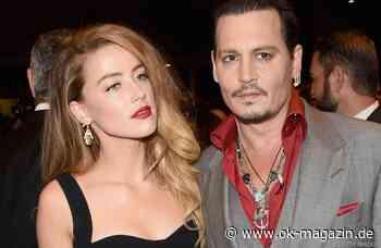 Johnny Depp & Amber Heard: Neue Wendung in der Scheidungsschlacht? - OK! Magazin