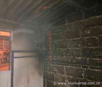 Bomberos atendió conato de incendio en el barrio Las Lomas - El Universal - Colombia