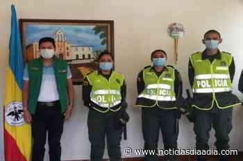 Tres nuevos auxiliares reforzarán la seguridad de Topaipí, Cundinamarca - Noticias Día a Día