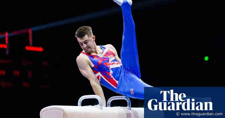 Max Whitlock to lead young GB men's gymnastics team at Tokyo Olympics
