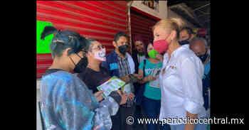 Recorre Sandra Ortiz el Barrio de Santa Anita y El Tamborcito - Periodico Central