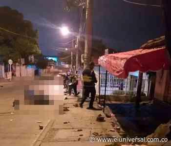 Hombre muere en accidente en moto en Olaya Herrera   EL UNIVERSAL - Cartagena - El Universal - Colombia
