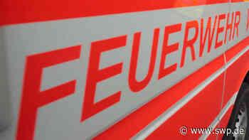 Blaulicht Bad Urach: Feuerwehreinsatz wegen angebranntem Mittagessen - SWP