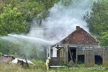 Vijf minderjarigen opgepakt in onderzoek naar brandstichting aan bouwvallige hoeve