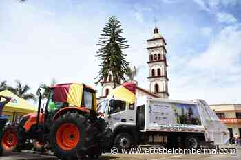 Santa Isabel recibió un tractor y camión compactador de basuras - Ecos del Combeima