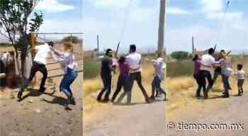 Denuncian pelea entre hijo de candidata en Santa Isabel y ciudadanos - El Tiempo de México