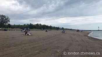 Lambton Shores mayor says he's grateful for the rain that kept beach crowds lower - CTV News London