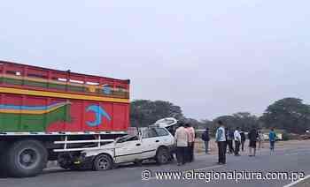Tres personas fallecieron en accidente de tránsito en vía Piura-Chulucanas - El Regional