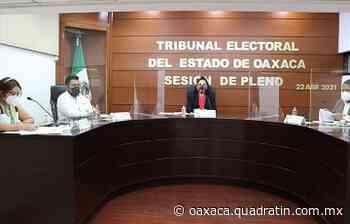 Niega TEEO registro de candidatura por violencia política en San Jacinto - Quadratín Oaxaca