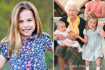 Queen's 'favourite great-grandchild is pony-mad Charlotte' – as Kate reveals she's 'always watching what sh... - The Sun