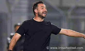 Sassuolo coach De Zerbi admits Shakhtar Donetsk negotiations - Tribal Football
