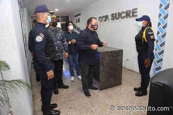 Diario El Periodiquito - Inspeccionaron obras en centro policial en Cagua - El Periodiquito