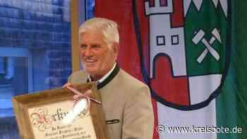 Dieter Fischer (Freie Wähler) ist jetzt Altbürgermeister von Burgberg - kreisbote.de