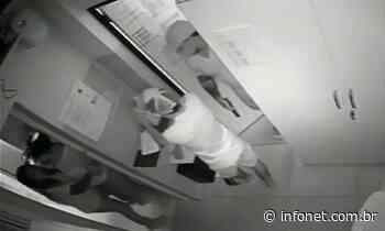 Polícia Civil divulga imagens de roubo em farmácia no Siqueira Campos - Infonet
