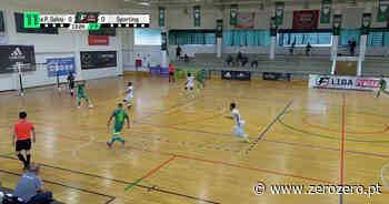 Liga Placard  Leões Porto Salvo 2x4 Sporting (MF1, Resumo) - zerozero.pt