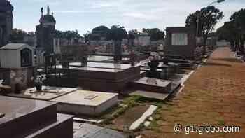 Violação de túmulos do cemitério Bom Jesus em Araguari é investigada pela Polícia Civil - G1
