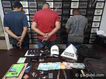 Caminhonete roubada em Araguari é recuperada em Uberlândia e três ladrões são presos - G1