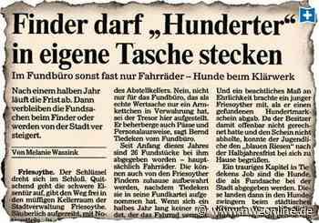 Kurioses aus Friesoythe: Unterhose wartet auf ihren Besitzer - Nordwest-Zeitung