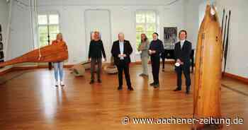 """Ausstellung """"Odradek"""" auf Schloss Burgau: Abtauchen in die Welt fremder Kulturen - Aachener Zeitung"""