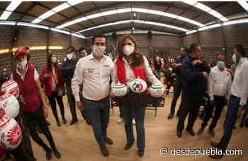 Blanca Alcalá llega a Chignahuapan a respaldar a Lorenzo Rivera - desdepuebla.com - DesdePuebla