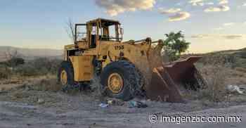 Requiere Jalpa cambio de maquinaria pesada - Imagen de Zacatecas, el periódico de los zacatecanos