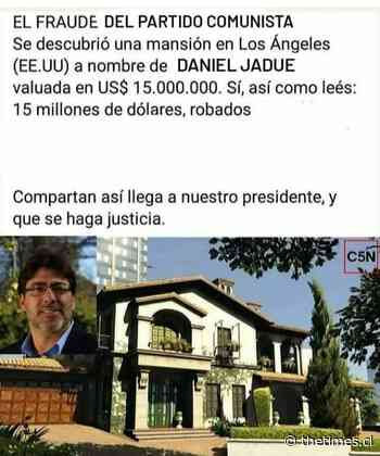 ¡No saben ni editar una foto! Patriotas y Ultraderechistas difundieron una ola de fake news sobre Daniel Jadue y constituyentes electos. - The Times en Español