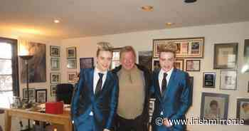 Fans reminded of Jedward's unlikely friendship with William Shatner as Edward is hospitalised - Irish Mirror
