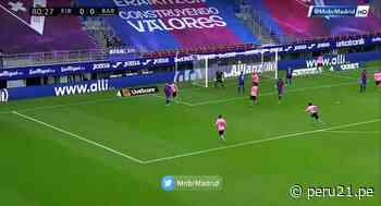 De tijera: Griezmann y su genialidad para la victoria de Barcelona 1-0 contra el Eibar [VIDEO] - Diario Perú21