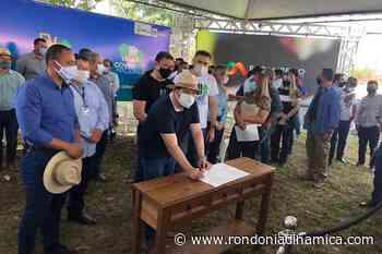 Presidente Alex Redano participa do lançamento do Tchau Poeira em Pimenta Bueno - Rondônia Dinâmica