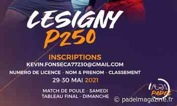 Jean Mich Padel Tour reprend à Lesigny ! - Padel Magazine