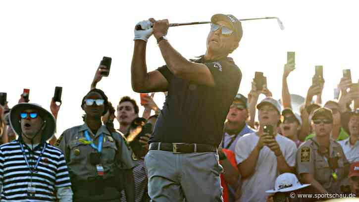 Phil Mickelson überrascht sich und die Golfwelt - sportschau.de