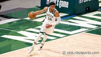 Giannis Antetokounmpo, Bucks get a kick out of trouncing Heat in Game 2