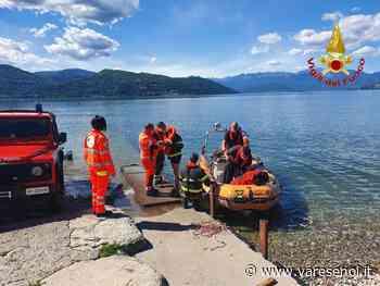 Ispra, anziano scivola e cade nel lago Maggiore. Salvato dai vigili del fuoco - VareseNoi.it