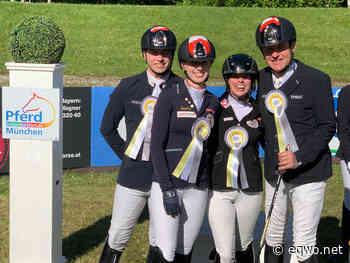 Paradressur: Österreich in München auf Rang zwei!   Equestrian Worldwide   Pferdesport weltweit - EQWO - Equestrian Worldwide