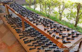 Alfarería de barro negro en San Bartolo Coyotepec, herencia cultural de Oaxaca - Quadratín Oaxaca