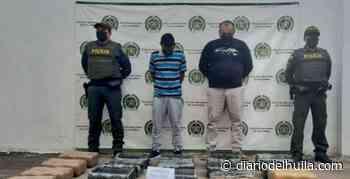 A la cárcel capturados en Yaguará por transportar marihuana - Diario del Huila