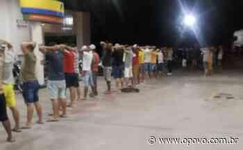 Em Aquiraz, aglomeração é encerrada e 75 pessoas são conduzidas à delegacia - O POVO